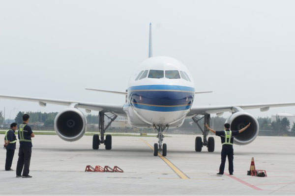 A new 3,600m-long, 60m-wide runway is currently under construction at Shenyang Taoxian International Airport. Image courtesy of SHENYANG TAOXIAN INT'L AIRPORT CO.