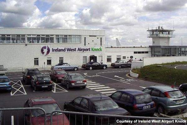 The terminal building at Ireland West Airport Knock in May 2006.