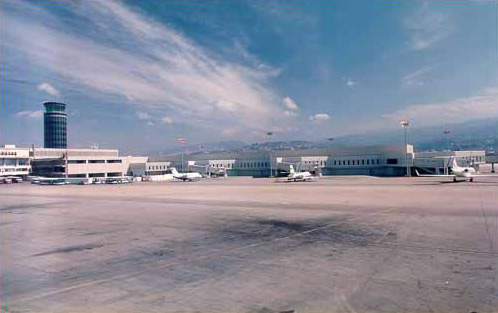 The redevelopment work at Rafic Hariri International Airport has increased the capacity of the airpo