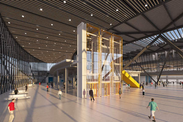 The extension looks more natural and blends with the existing terminal.