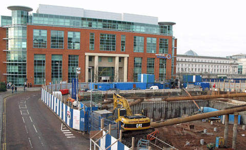Only two miles from City Airport, central Belfast illustrates renewed confidence in the commercial sector.