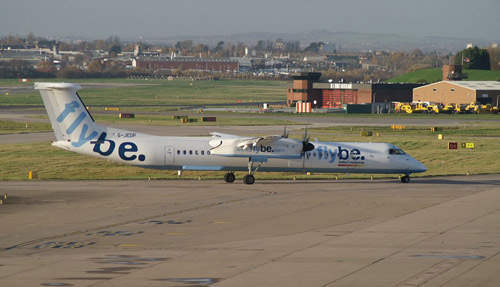 Low-cost operator flybe has a strong presence at BIA.