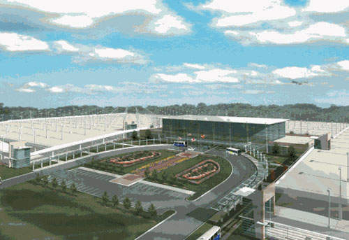 The expansion includes improving Baltimore-Washington International Airport's car facilities.