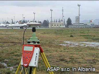 Airport survey equipment