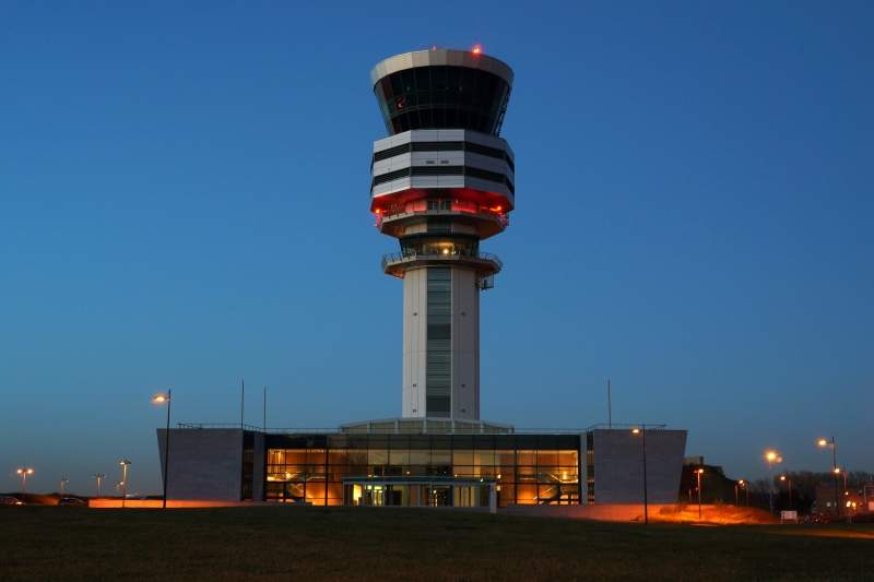 ATC, air traffic control, Brussels Airport, ATC tower