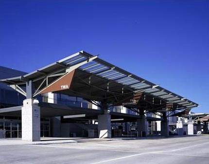 The new airport was opened for civilian passengers in 1999, although the cargo part of the airport has been in operation since 1997.