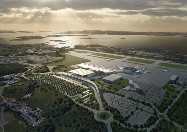 upgraded Bergen (Flesland) Airport