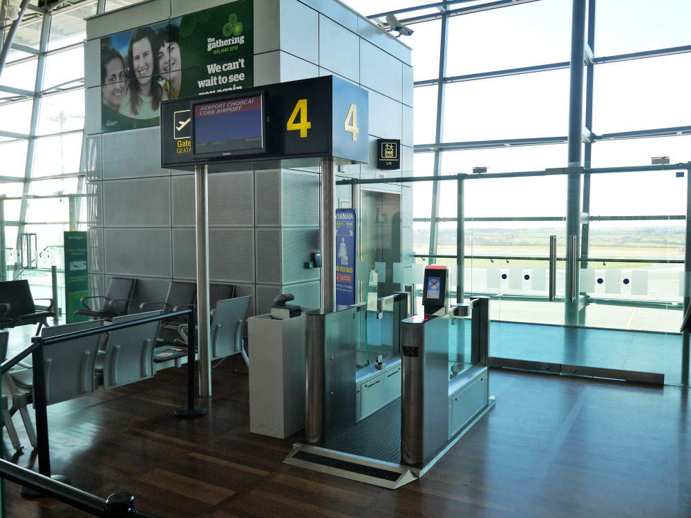 Cork airport boarding gates