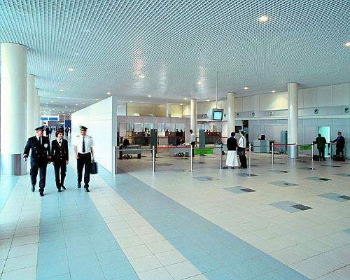 The current terminal is coping well with the increased passenger numbers during 2005.