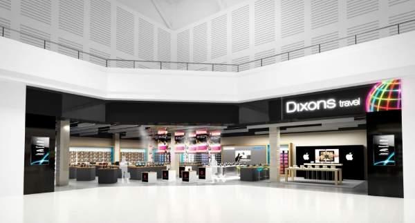 Dixons terminal 2 heathrow