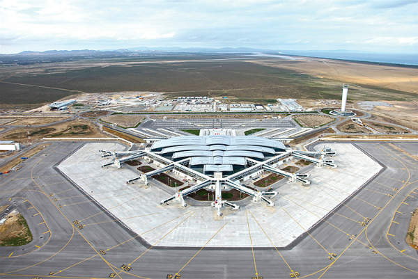 Enfidha-Hammamet International Airport is located in Enfidha, Tunisia. Image courtesy of TAV Airports Holding Co.