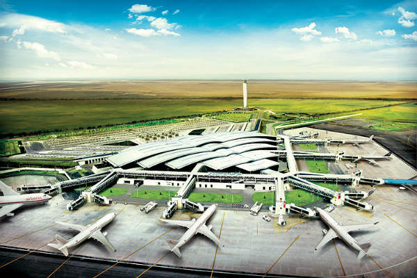 The Enfidha-Hammamet International Airport is designed to handle seven million passengers a year. Image courtesy of TAV Airports Holding Co.