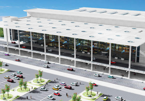 The new terminal will cover 50,000m2 and have a capacity to handle more than 1,800 passengers an hour.