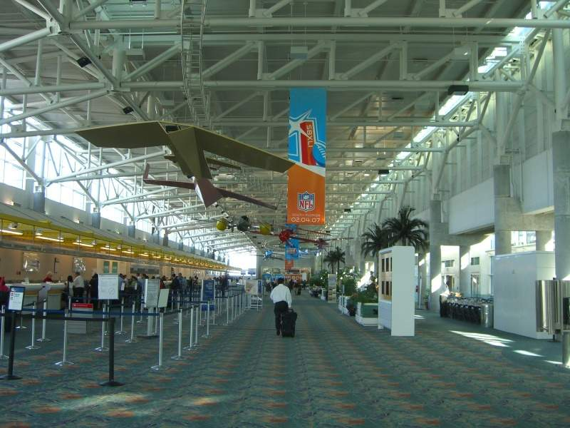 Fort Lauderdale-Hollywood International Airport, Fort Lauderdale International Airport, Florida, Terminal 1