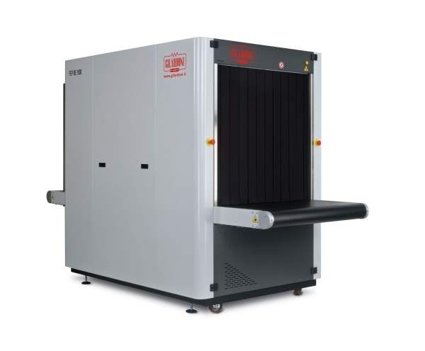 FEP ME 1000 HC bulky baggage screening system.