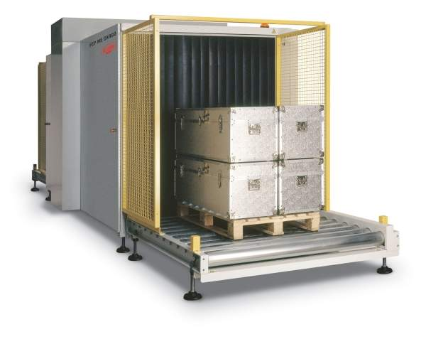 FEP ME CARGO for pallet and small container screening.