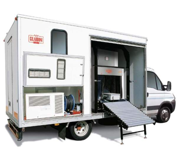 SCANTRUCK mobile X-Ray inspection system.