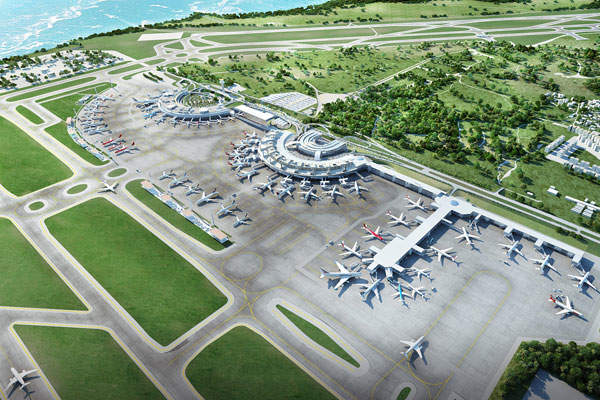 Tom Jobin International Airport is undergoing a major expansion ahead of the 2016 Olympic Games. Image courtesy of RIOgaleão.