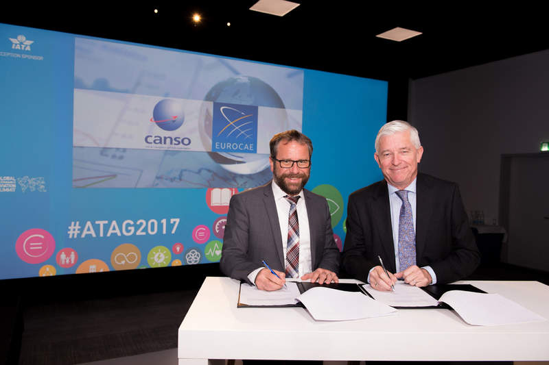 Signing-CANSO-EUROCAE
