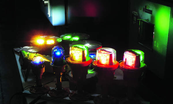 Coloured LED Lights