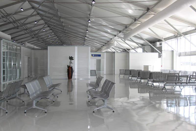 RÖDER HTS HÖCKER – semi permanent Clear-Span Airport terminal