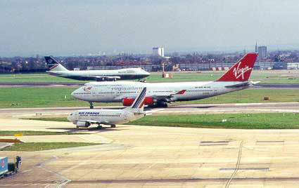 Heathrow Airport became heavily congested as a result of the delays to the terminal five project.