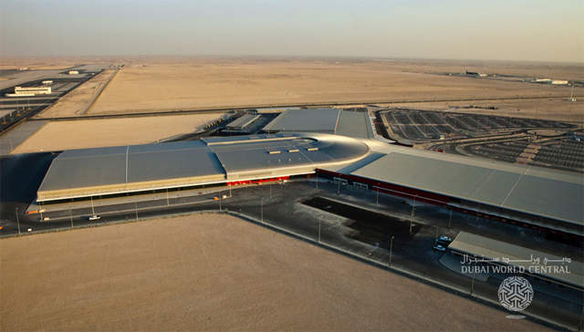 The first terminal at Al Maktoum International Airport opened in 2012. (Image courtesy: Dubai World Central)