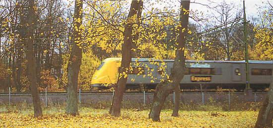 The Arlanda link comprises 20 kilometres of double-track railway.