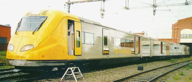 EMU's built by Alstom are currently involved in track trials.