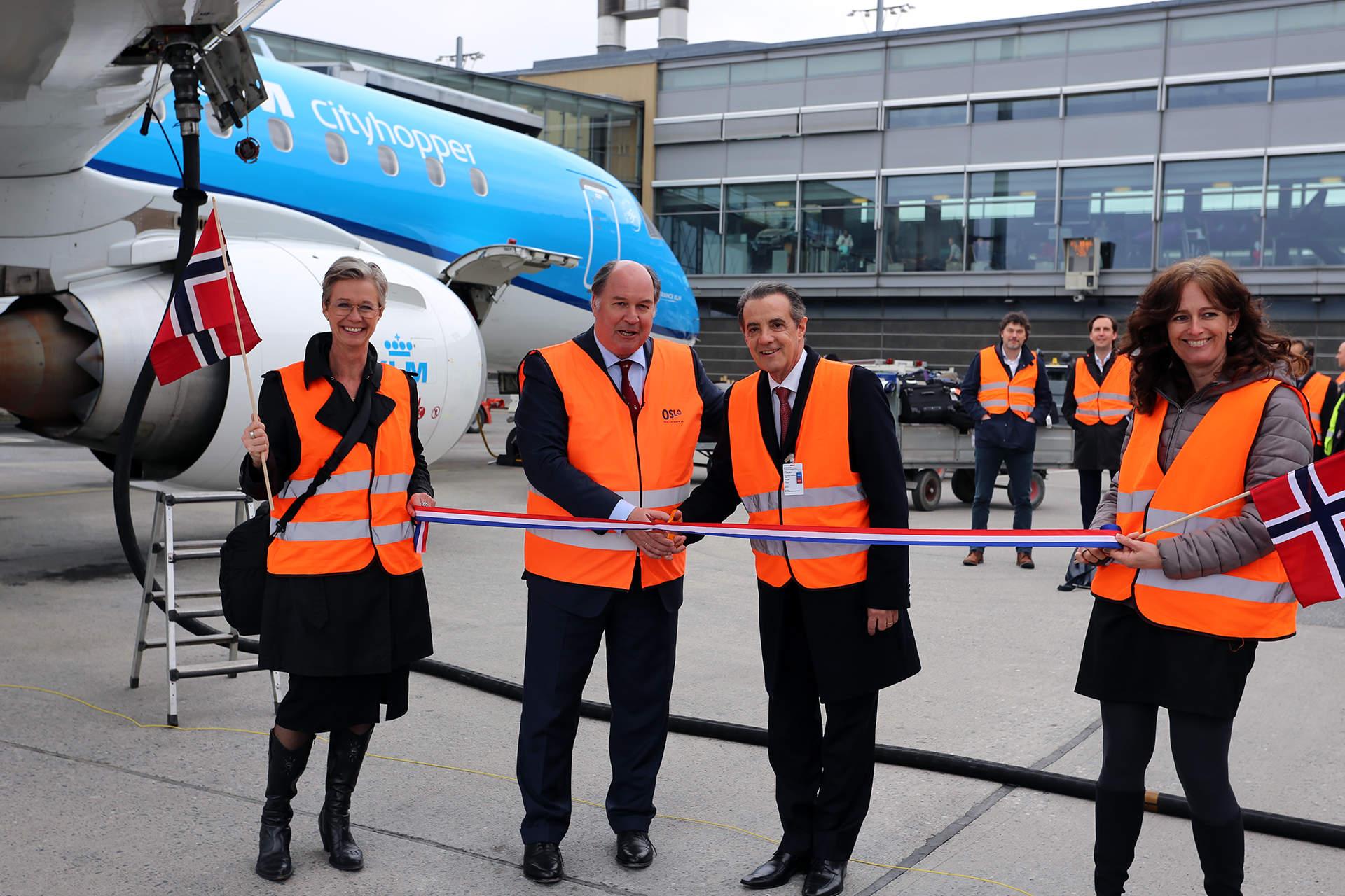 Oslo Airport biofuels