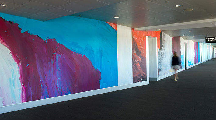 Brisbane Airport, Aboriginal art