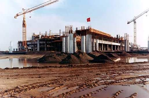 The Allama Iqbal International Airport project begins to take shape.