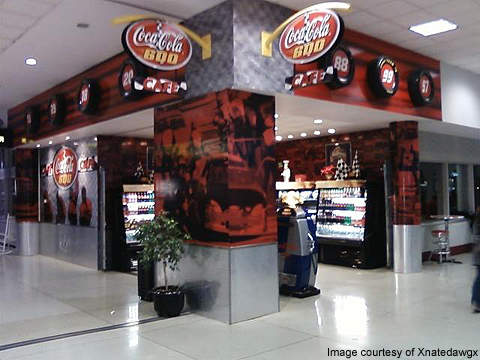 Coca-Cola 600 Café at Charlotte Douglas International Airport.