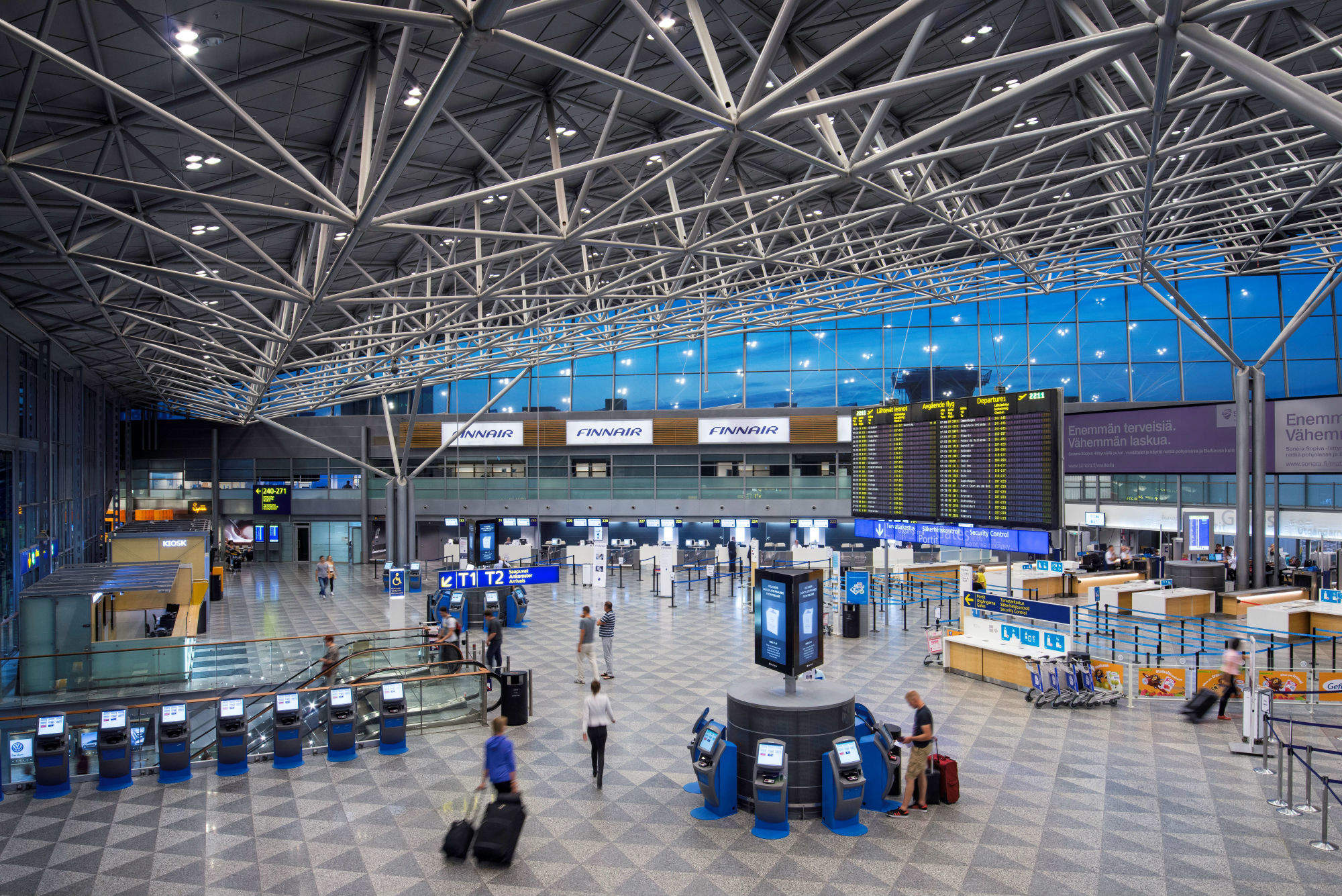 Location-based technology: personalising the airport experience