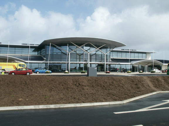 Guernsey Airport has built a new terminal building as part of a redevelopment programme.