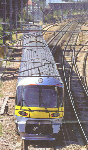 Heathrow Express trains run for much of their journey along the Great Western main line