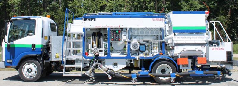 Hydrant dispenser truck