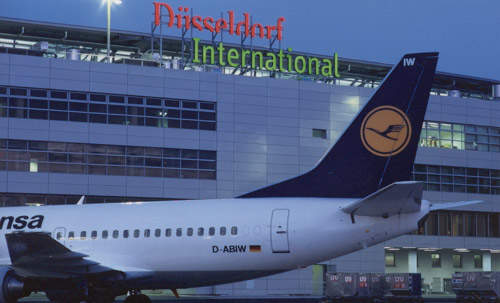 Dusseldorf is the third largest airport in Germany