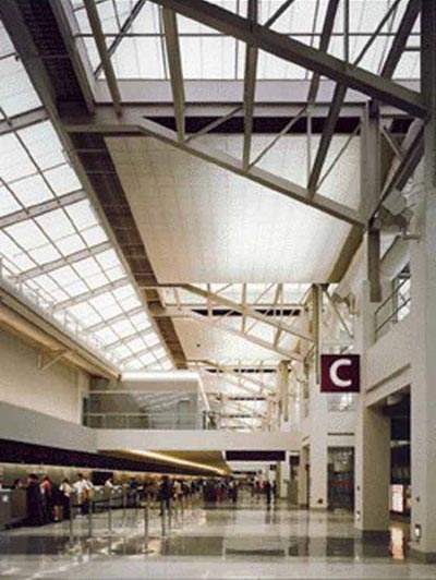 The new International Terminal A-West at Philadelphia International Airport was opened in 2003.