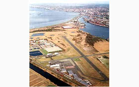 Bremerhaven local airport is being upgraded to become a regional airport