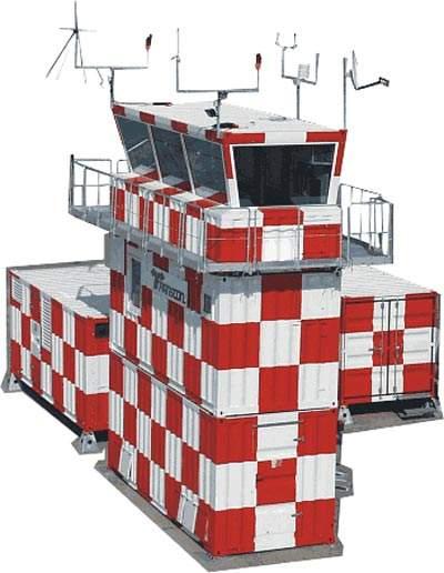 Transcon mobile airport building