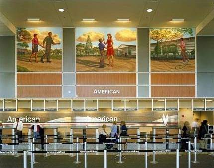 Austin Bergstrom International Airport was constructed on the site of Bergstrom American Air Force base