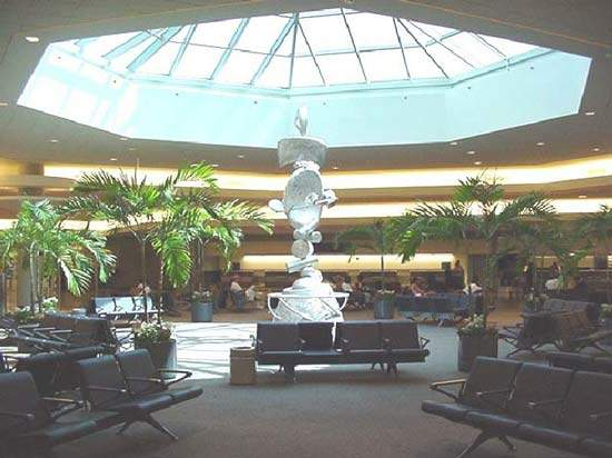 Prior to Katrina, the airport had 10 million passengers going in and out of the airport each year wi