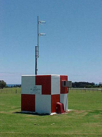 GPS ground station housing.