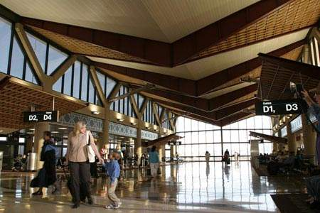The airport authority believes that the public image of Terminal 4 is a very important aspect of the airport, since 75% of passengers pass through it.