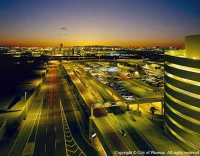 Phoenix Sky Harbor International Airport (PHX) underwent an extensive upgrade programme between 2005 and 2009.