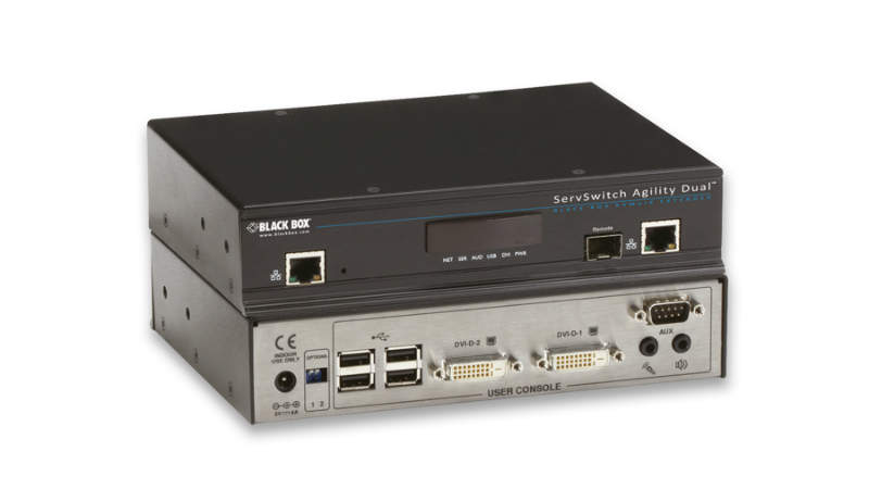 Agility KVM-over-IP solution