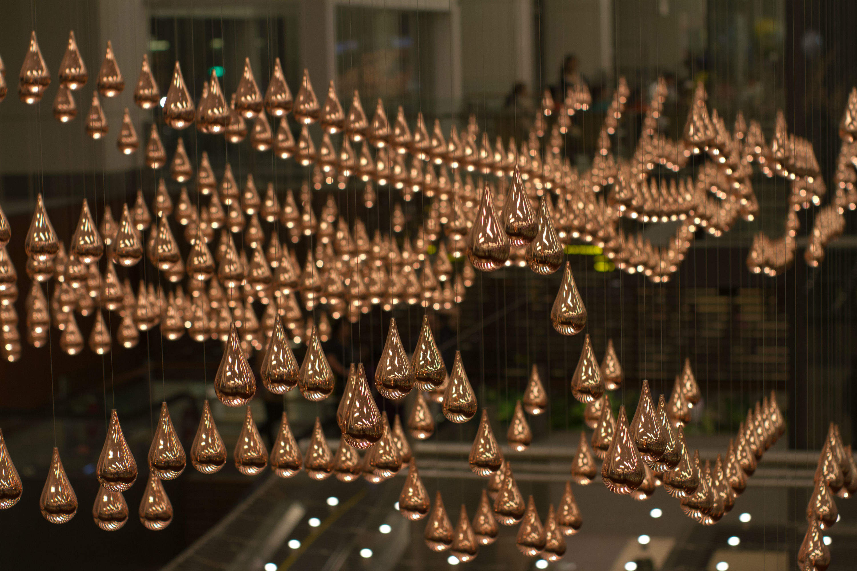 Singapore Changi Airport, Kinetic Rain