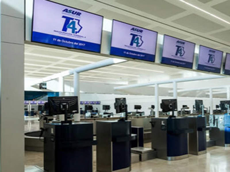 Cancun Airport's T4 was opened in October 2017. Credit: SITA.