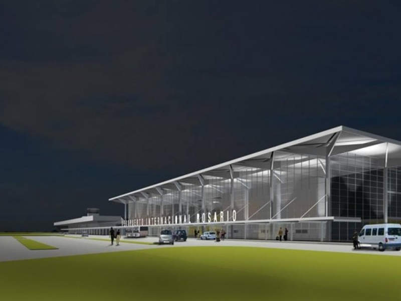 Plans for the new passenger terminal at Rosario International Airport were unveiled in June 2016. Credit: Municipality of Rosario.